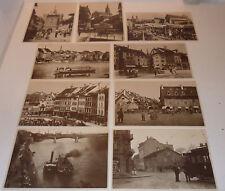 LOT 9 CPA alt postkarte CARTE POSTALE f.hoffmann la roche BASEL höflinger SUISSE