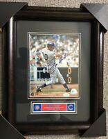 Ron Santo Chicago Cubs Autographed Picture     12 x 16