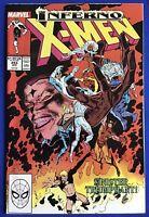 Uncanny X-Men #243 (1989) X-Factor & Mister Sinister APP; Inferno Tie-In; VF/NM