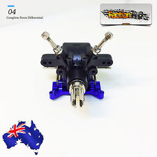 WLtoys 10428 1/10 Scale RC Car Complete Front Differential Housing Gear Set Diff
