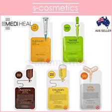 [MEDIHEAL] Essential Mask 25ml Tea Tree Collagen Placenta Vita Platinum V Sheet