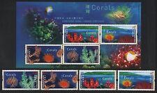 China Hong Kong 2002 Coral stamp set joint Canada