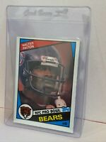 1984 Topps Walter Payton Chicago Bears NFC PRO BOWL Football Card HOF #228