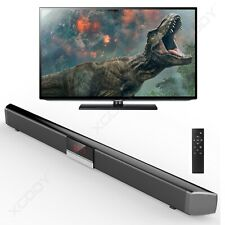 40W 3D Surround TV Soundbar System Lautsprecher Bluetooth 4.0 Wireless Subwoofer