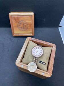 Jord Cassia Walnut & Vintage Rose Ladies Wood Watch by Jord BRAND NEW BOXED