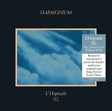 Harmonium, L'Heptade XL DELUXE 2CD, 40ieme  CD BRAND NEW at Musica Monette #571