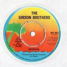"Gibson Brothers - Mariana 7"" Single 1980"