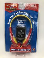 Story Reader Stereo Headphones AC Adapter