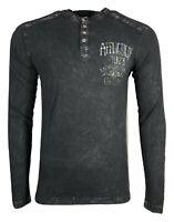 AFFLICTION Mens T-shirt AC FOUR STROKE Biker Skull  Cross MMA GYM  S-3XL $55