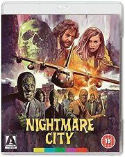 NIGHTMARE CITY Incubo sulla Città Contaminata di U.Lenzi DVD+BLURAY NEW .cp
