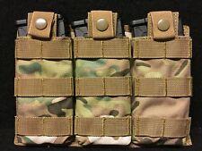 Magazintasche für 3 x Magazine in Kal. 5,56 in Multicam Mollesystem Molle