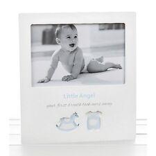 Little Angel White Picture Photo Frame Sentiment Baby Shower Christening Gift