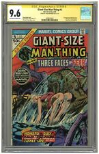 Giant-Size Man-Thing #5 (CGC Signature Series 9.6) OW/W p; Frank Brunner (j#5239