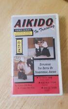 Vintage Vhs tape Aikido In Training video series Akido Tai Jutsu Aiki Ken Jo oop