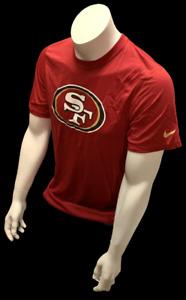 Nike Dri Fit Men's San Francisco 49ers Red Short Sleeve Shirt NFL T-Shirt