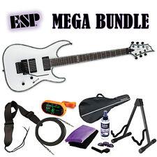 ESP LTD H-1001 FR Snow White SW *New* Electric Guitar H1001FR 1001 MEGA BUNDLE 1