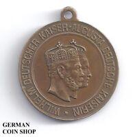 Medaille Goldene Hochzeit 11. Juni 1879 Kaiser Wilhelm I. und Kaiserin Augusta