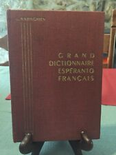 Warighien - Grand Dictionnaire Espéranto - français  - B7