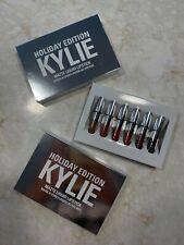 Brand New Kylie Jenner Holiday Edition Mini Matte Lip Kit Lipstick Set Gift Set
