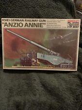 Hasegawa Minicraft K5(E) German Railway Gun Anzio Annie Kit 1:72 Scale - NIB