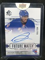 2014-15 SP Authentic Future Watch #286 Anthony Duclair RC Rookie AUTO 483/999