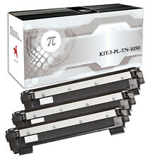 3 Toner per Brother TN1050 HL1110 HL1112A HL1210 DCP1510 MFC1810 MFC1910 TN 1050