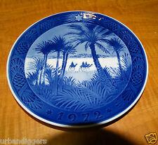 11644/ Royal Copenhagen 1972 Christmas Plate ~ In The Desert