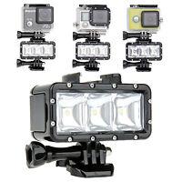 Underwater Waterproof Diving LED Light Fill Lamp for Gopro Hero 9 8 7 6 5 Camera