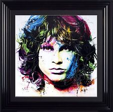 Liquid Glass Jim Morrison by Patrice Murciano 90 X 90cm Limited Edition