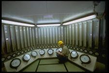 489056 Italian Oil Platform Control Room A4 Photo Print