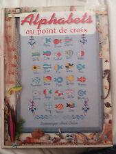 Alphabets Au Point De Croix  Hoël  Colin DMC Livre
