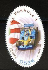 STAMP / TIMBRE FRANCE  N° 3800 ** SPORT / LA FORMULE 1  / VOITURE