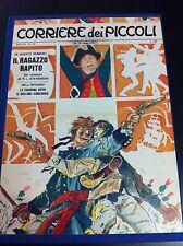 HUGO PRATT- IL RAGAZZO RAPITO - IL CORRIERE DEI PICCOLI 1967 - VOLUME RILEGATO