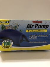 Tetra Whisper Easy to Use Air Pump for Aquariums (Non-UL) 60-100-Gallon NEW