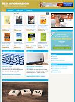 SEO WEBSITE - Affiliate Information Website For Sale - Free Installation