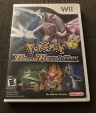 Nintendo Wii Pokemon Battle Revolution Empty Replacement Case & Manual ONLY