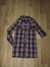 Karierte H&M Damenblusen, - tops & -shirts im Tunika-Stil