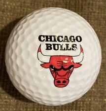 Chicago Bulls Nba Logo Golf Ball - mint, never played