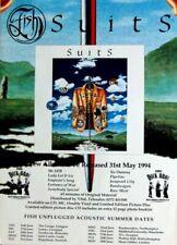 FISH - MARILLION - 1994 - Tourplakat - Concert - Suits - UK - Tourposter