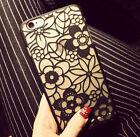 Victoria Rétro Fleurs Etui Housse Coque Cover Pour iPhone 6/6S Plus iPhone7 Plus