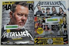 METAL HAMMER Dec 2016 METALLICA + CD Free SLIPKNOT BOOK 20 Years OZZFEST Avenged