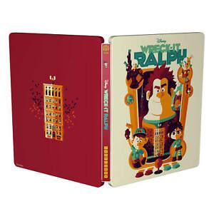 Wreck it Ralph - Steelbook - Zavvi Exclusive Mondo #34 - Blu-ray - NEUF/NEW