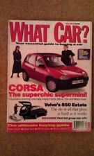 May What Car? Cars, 1990s Transportation Magazines