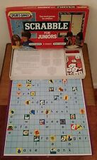 Scrabble for Juniors Vintage Retro Edition 2 Word games in 1 box FREE Postage!