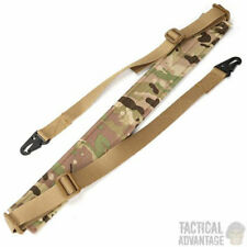 Multicam Camouflage 2 Point Tactical Rifle Gun Sling Strap Airsoft Paintball UK