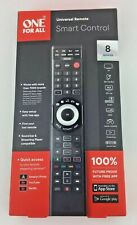 One For All Smart Control 8-Device Universal Remote Black URC7880-Open Box