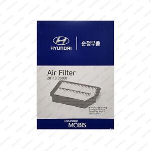28113 3S800 Genuine OEM AIR Cleaner Filter For Kia 2012 2013 Optima K5 2.0L