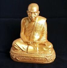 Beautiful Decorative Thai Buddhist Monk Resin Statue.  Weight 1.240 kg