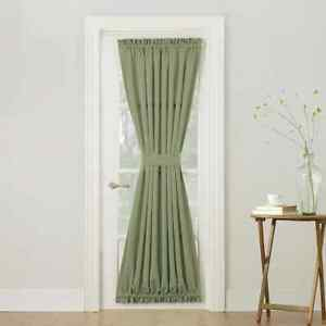 1PC ROLL UP LINED BLACKOUT WINDOW CURTAIN OR FRENCH DOOR NEW PANEL Gaby