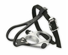 VP Components VP-398T - Road Bike Pedals with Toe Clips & Straps